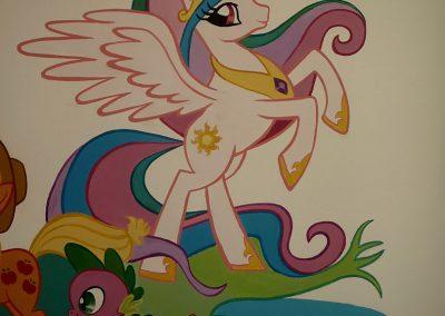 muurschildering meisjeskamer my little pony-meisjeskamer-my-little-pony-3