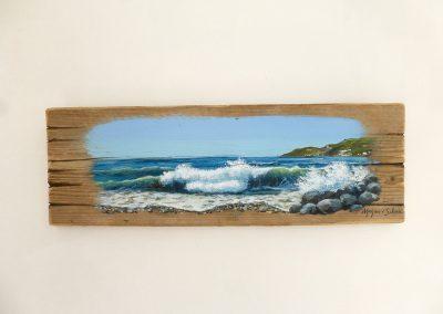 schilderij zeegezicht Spanje