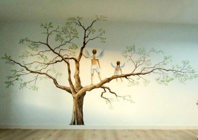 muurschildering-kinderkamer-boom-2